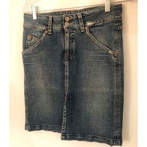 Hudson Jean skirt. Size 28